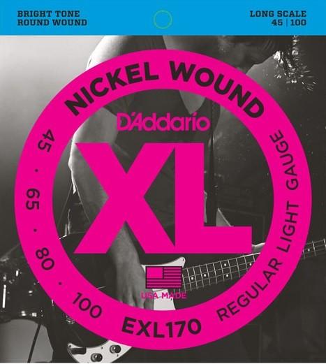 DAddario - EXL170 45-65-80-100