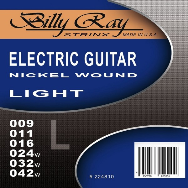 B. Ray - Electric Guitar Strings 9-42