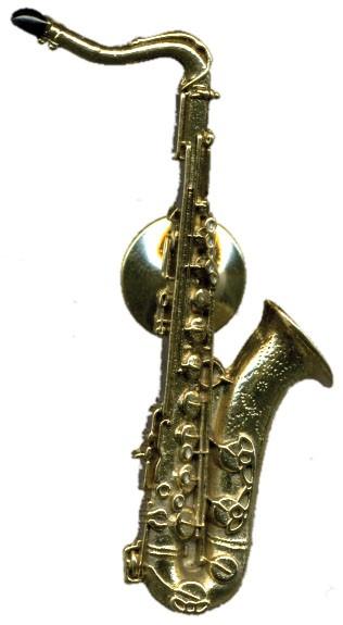 Future Primitive - 542  Tenor Sax Ansteckpin