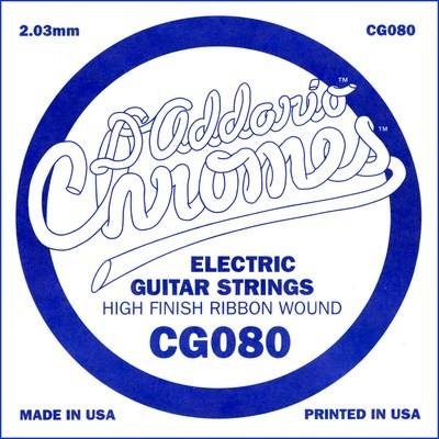 CG080 flatwound ES Chromes