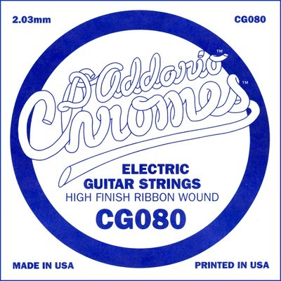 DAddario - CG080 flatwound ES Chromes