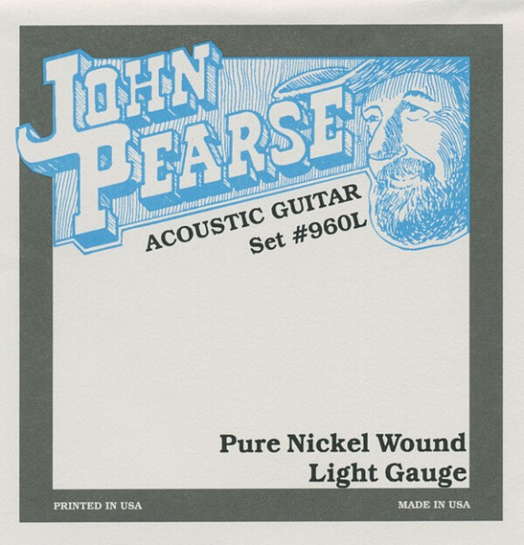 John Pearse - 960L Pure Nickel Wound 12-54