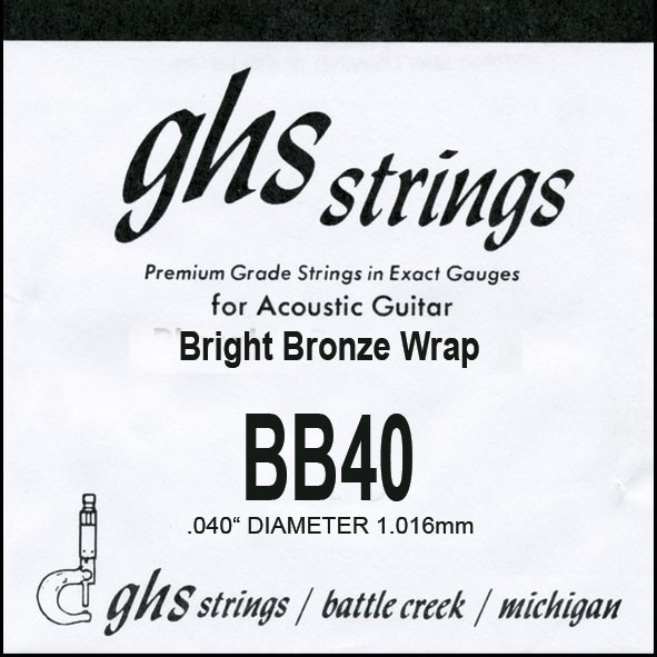 BB40 Bright Bronze 040 wound