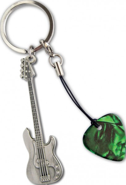 Keyring Bass mit Plektrum
