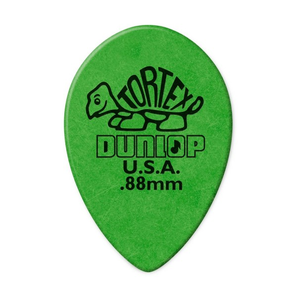 Dunlop - 423 0,88mm Small Teardrop grün