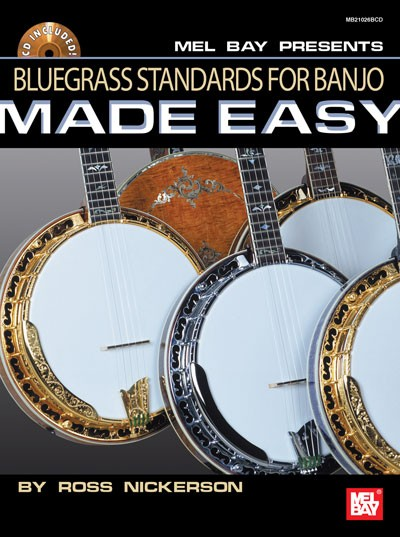 Mel Bay - MB21026BCD Bluegrass Standards