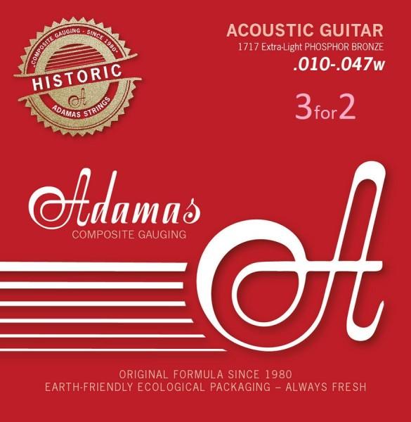 Adamas - 1717 3er Pack 10-47 Ex Light