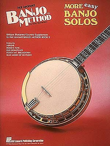 HAL LEONARD - HL00699516 More Easy Banjo