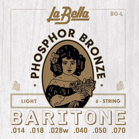 La Bella - BGL Baritone light Phos.Bronze