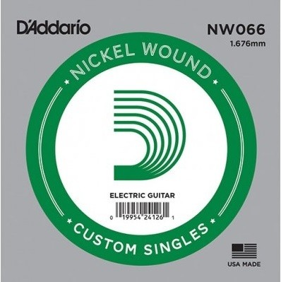 DAddario - NW066 Nickel Wound