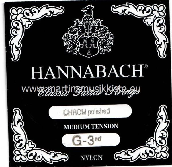 Hannabach - 875MT G3 ES Nylon besponnen