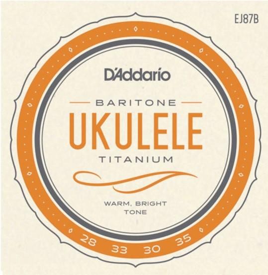 DAddario - EJ87B t2 Titanium  Baritone