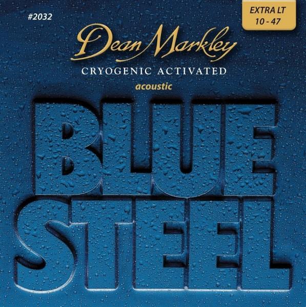 Dean Markley - 2032 Blue Steel Cryogenic 10