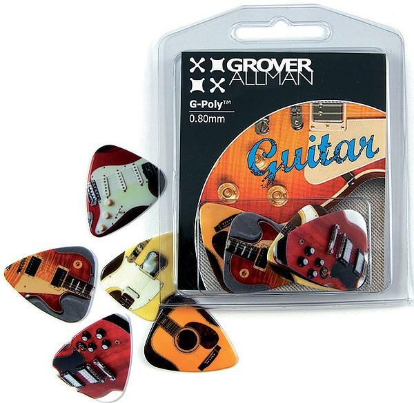 GroverAllman - Guitar Multi Pack 5 Plektren