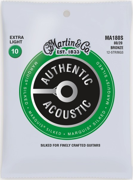 Martin - MA180S 12S Marquis Silked