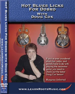 Mel Bay - DCDVD03 Hot Blues Licks Dobro