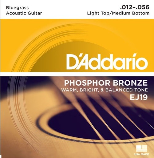 DAddario - EJ19 Phosphorbronze Bluegrass