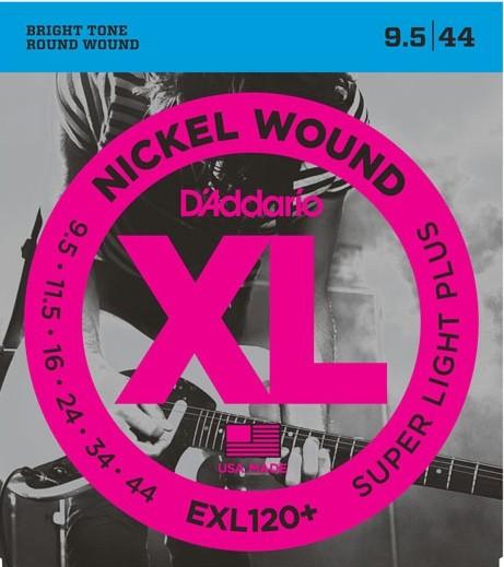 DAddario - EXL120+ Nickel w.Super Light+