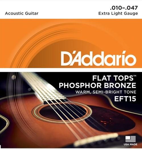 DAddario - EFT15 Flattops Phosphorbronze