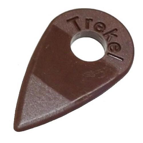 Trekel - Plektrum für Mandoline braun