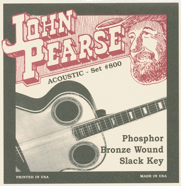 John Pearse - 800 Phos Br Slack Key 13-56