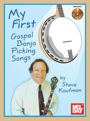 Mel Bay - MB20800BCD 1st Gospel Picking