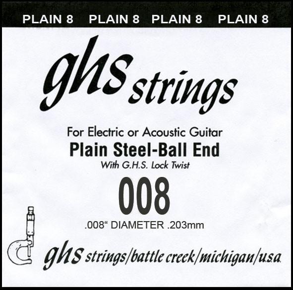 DY008P 008 plain Ball End