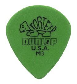 Dunlop - 472 M3 Tortex Jazz 3 grün M 3
