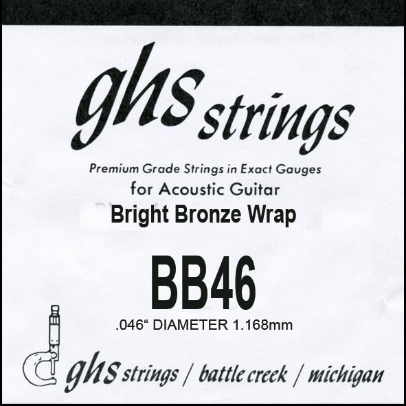 GHS - BB46 Bright Bronze 046 wound
