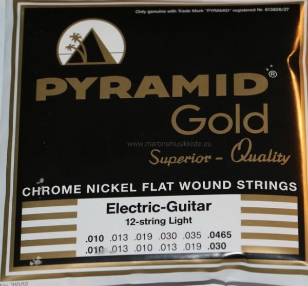 Pyramid - 310/12 Pure Nickel flatwound