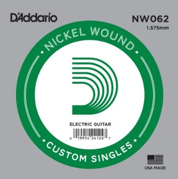 DAddario - NW062 Nickel Wound