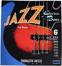 Thomastik - JF346 Jazz Bass Flatwound