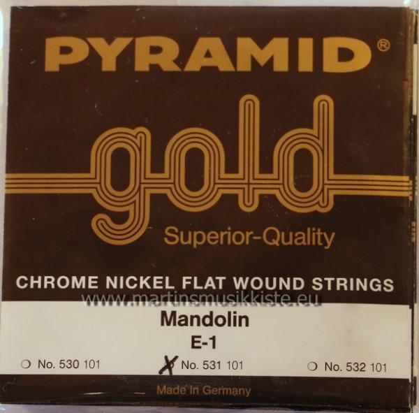 Pyramid - 531100 Gold flatwound medium