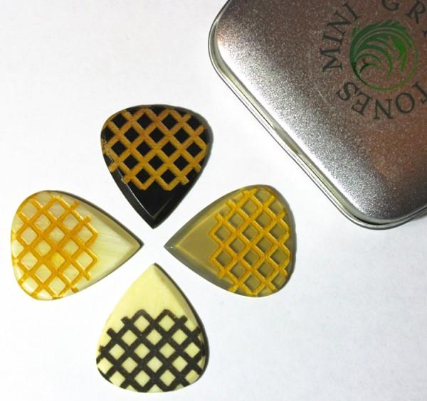 Timber Tones - Grip Tones Mini Tin 4er Pack