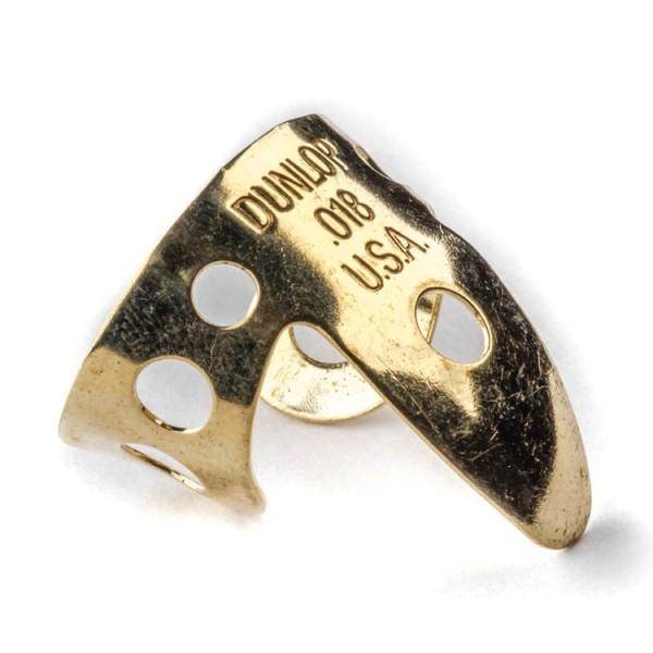 Dunlop - D18BRASS Fingerpick 018