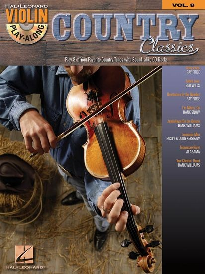 HAL LEONARD - HL00842230 VPA Vol 6 Country