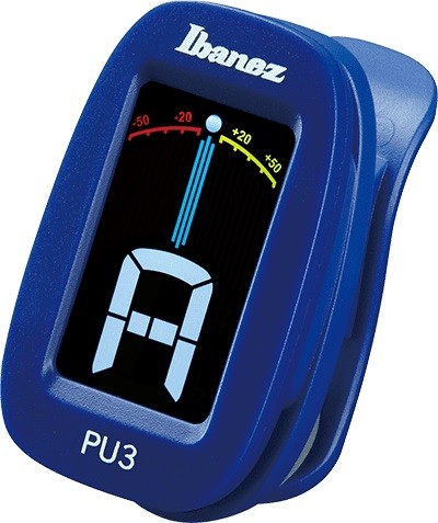 Ibanez - PU3-BL Clip Auto Tuner blau