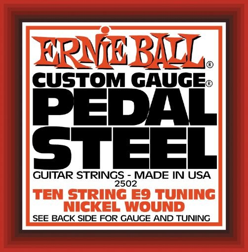 Ernie Ball - EB2502 Nickel Pedal Steel E9