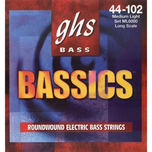 GHS - ML6000 BASSics .044-.102