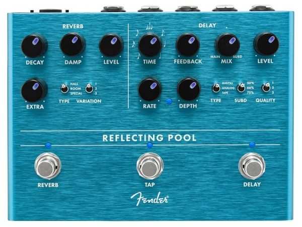 Reflecting Pool Delay a Reverb
