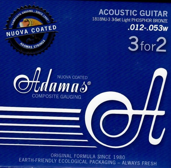 Adamas - 1818NU 3er Pack Ph.Br. coated