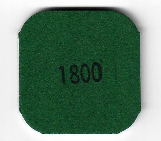 MM1800 Pad 5x5 Körnung 1800