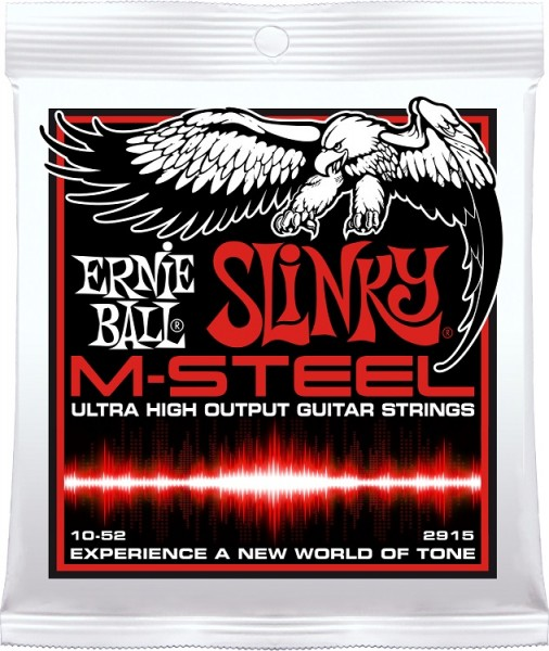 Ernie Ball - EB 2915 M-Steel Skinny Top 10