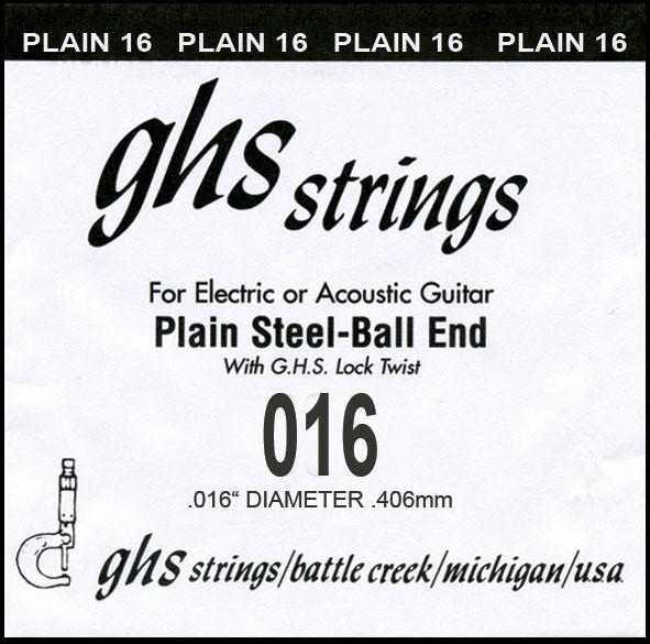 GHS - DY016P 016 plain Ball End