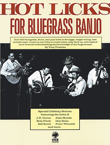 HAL LEONARD - HL14015428 Hot Licks Bluegrass