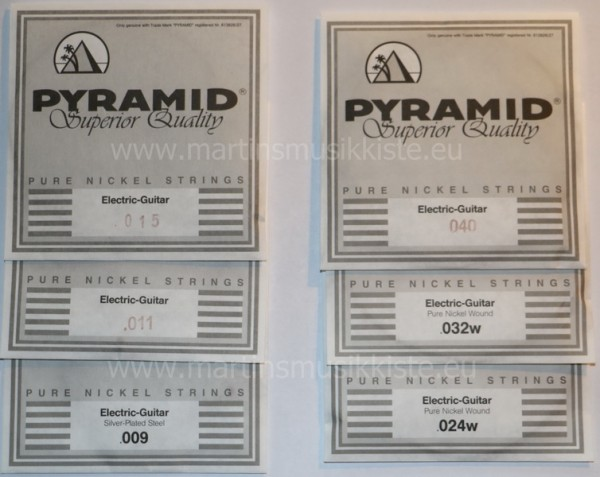 Pyramid - 150XL Pure Nickel 09-40