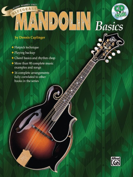 Alfred - 0383B Bluegrass Mandolin Basic