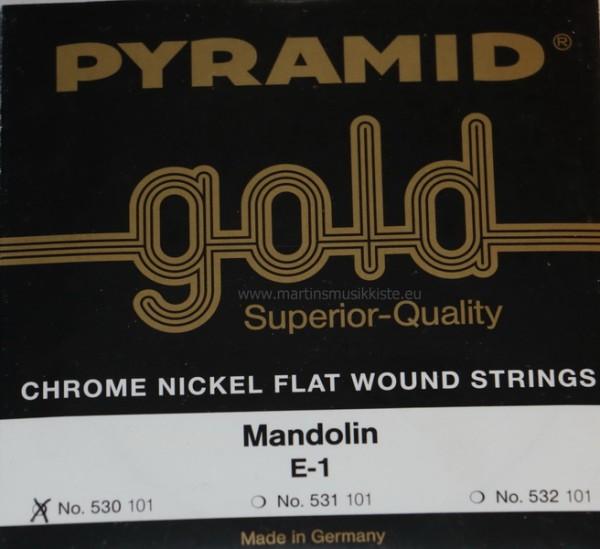 Pyramid - 530100 Gold flatwound light