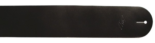 LM - LS-301 Ledergurt schwarz 7,5cm