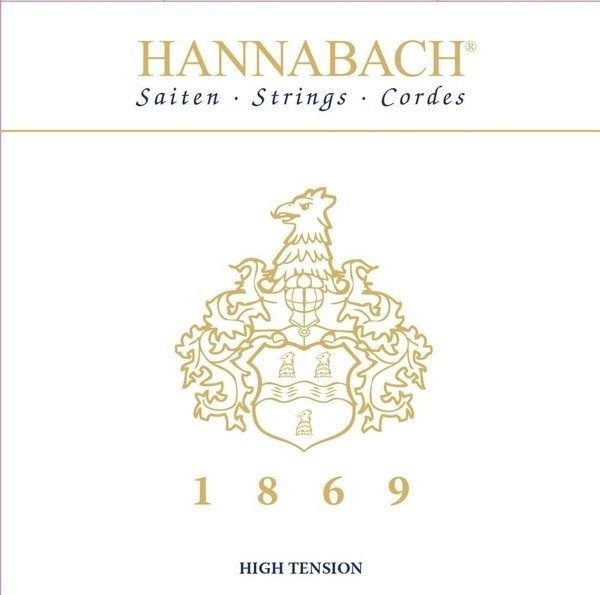 Hannabach - 1869HT Carbon Gold high ten